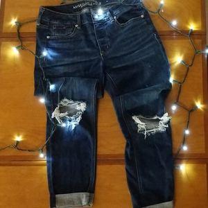 AEO Tomgirl Jeans (Sz 4L)